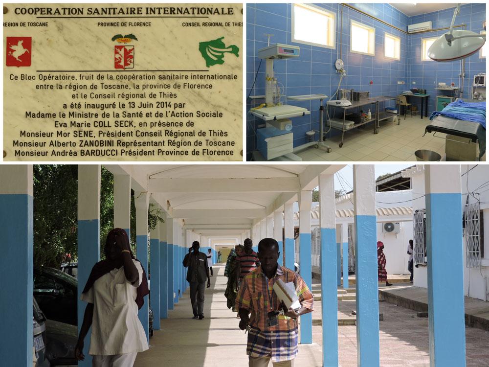 COOPERAZIONE SANITARIA, REPARTO MATERNITA': il più moderno del Senegal